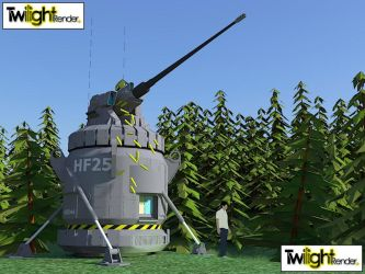 Defense Turret by MSgtHaas