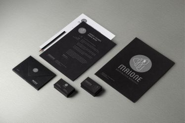 Maione corporate identity by alejandro-torres