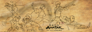 Team Avatar by sleepyzebra