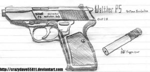 Walther P5 by CrazyDave55811