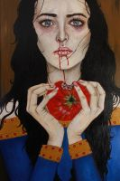 Snow White and the Poison Apple by SometimesAliceFX