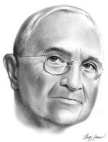 Harry S. Truman by gregchapin