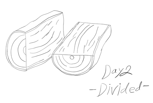 Inktober 2017 - Day 2 - Divided by HarrisonClark