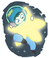 Spaceman Cutieeeee by party-mcfly