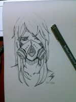 Gas Mask! by Idamessygirl