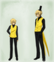 Human Bill Cipher by TFAfangirl14
