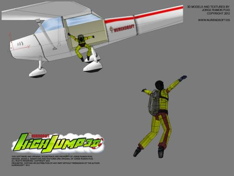 HIGH JUMP 3D - Game 3D models 00 by Nurendsoft
