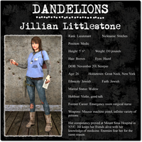 Dandelions Character Card -- Jill by Nathanomir
