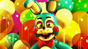 Balloon Bunny (fnaf sfm) by JR2417