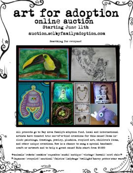 auction flier by quidditchmom