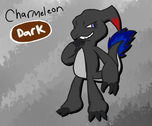 If Charmeleon was a Dark type. by Implosion-Explosion