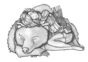 Critical Role - Vex and Trinket by s0ulafein
