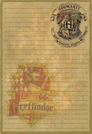 Gryffindor Stationery Option1 by Sinome-Rae