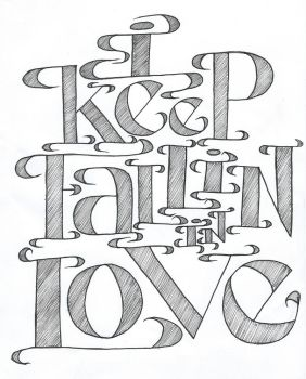I KEEP FALLIN IN LOVE by radkat23