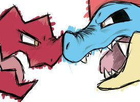Druddigon VS Feraligatr
