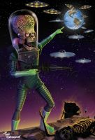 Mars Attacks by ted1air