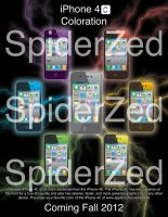 iPhone 4C Fake advertisement by SpiderZed