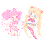 Sailor Charms WIP by ViPOP