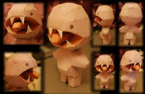 Tikey papercraft by SophieHoulden
