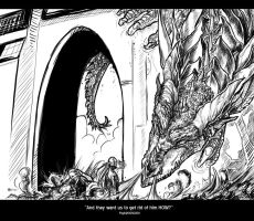 Assignment 1 - Dragon by PsychedelicMind