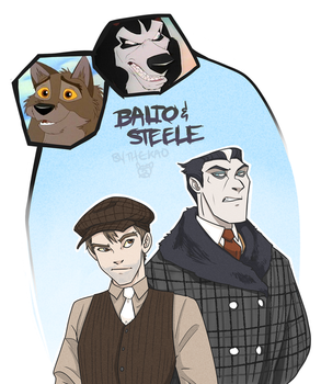 Balto and Steele by TheK40