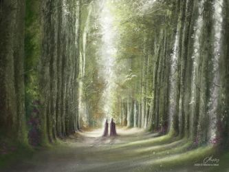 Endless Forest by maril1