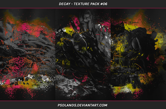 TEXTURE PACK #06 - decay by psdlands
