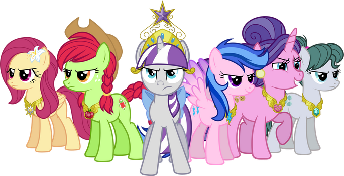 MLP Alternate Universe: Mothers of Harmony by ImperfectXIII