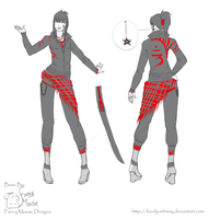 Kanda Outfit Design by Leuong