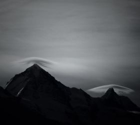 Mountain Cloud Formations by aobaob
