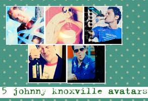 Johnny Knoxville avatar set 1 by MobileAngel