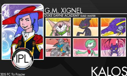 IPL Trainer Card: GM Xignel by leviathanofuda