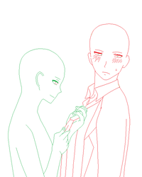 .Tighten your tie boy, your something to die for. by DevilsSongbird-Bases