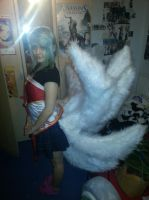 New Ahri Tails! by DYuki