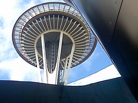 Under the Space Needle by AmalgamImage0