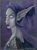 Night Elf by pixelfish