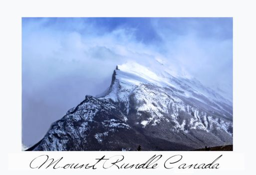 Mount Rundle by shell4art