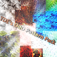 TDE's OdD Pattern Pack by ToadsDontExist