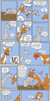 The Fox and the Greyhound by SusieBeeca