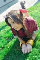 Aerith Gainsborough - Fulfilled Desire by Sora-Phantomhive