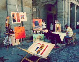 The Spanish Painter 2 by green-daydreamer