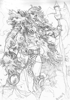 RED SONJA! by mccat
