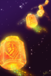 Lanterns by V-Cantabile