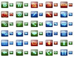 Blog Icons for Vista by Ikonod