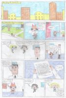 Powerpuff Girls Comic Page 1 by scoobyqueen12