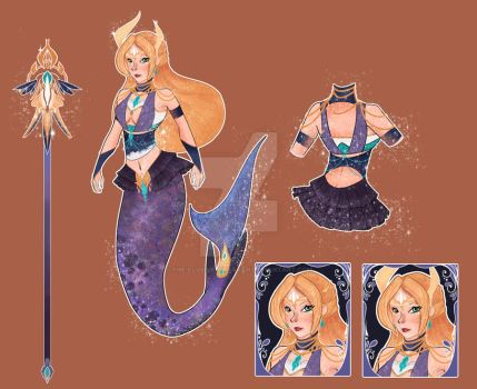 (OPEN/OFFER) : Mermaid Adopt (POINTS/PAYPAL) by The-Elusive-Caravan
