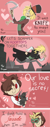Jekyll and Hyde Valentine Cards by ecokitty