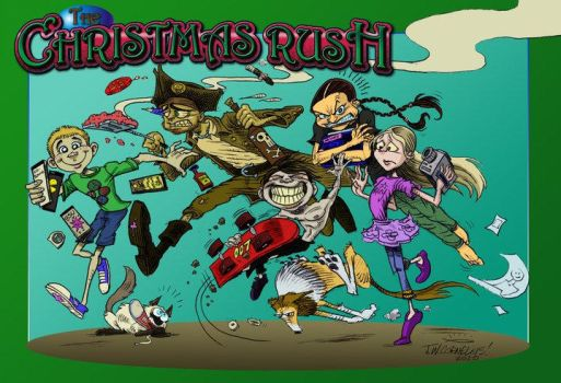 Christmas Card 2010 by Carnival-Werewolf