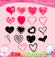 San Valentin Brushes 1 by star-mari