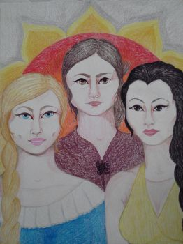 The Sand Snakes by Impsgramma